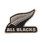 Image of: All Blacks New Zealand Rugby Logo Pin Badge