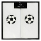 Image of: Football Embroidered Cotton Handkerchiefs