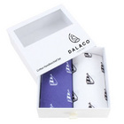 Image of: Blue & White Yacht Print Cotton Handkerchiefs