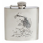 Image of: Fish Stainless Steel Hip Flask