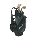 Image of: Golf Bag Pen Holder & Pen Set - Black Green