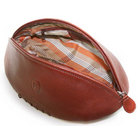 Image of: Portland Leather Rugby Ball Wash Bag