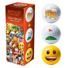 Image of: Emoji Golf balls (Beer/Golf/Happy)