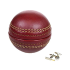 Image of: Portland Leather Cricket Ball Cufflink Box & Cufflinks
