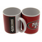 Image of: San Francisco 49ers Fade NFL Mug