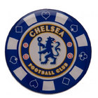 Image of: Chelsea Poker Chip Pin Badge