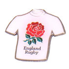 Image of: England Rugby Shirt Pin Badge