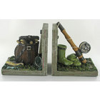 Image of: Fishing Shelf Tidy Bookends