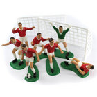 Image of: Red Footballers Cake Decoration Kit