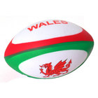 Image of: Wales Squeezy Rugby Ball