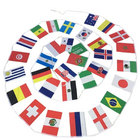 Image of: 2018 Football World Cup Flags Bunting (6x9in)