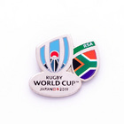 Image of: South Africa Rugby World Cup 2019 Pin Badge