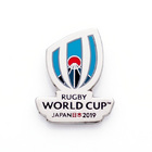 Image of: Nickel Rugby World Cup 2019 Logo Pin Badge