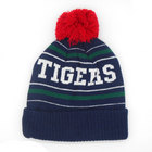 Image of: Leicester Tigers Youth Bobble Beanie Hat - Navy/Green/Red