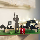 Image of: Cricket Pop-Up Card
