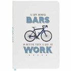 A Life Behind Bars A5 Cycling Notebook
