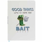 Image of: Good Things A5 Fishing Notebook