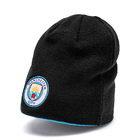 Image of: Puma Manchester City FC Reversible Beanie- Blue/Black